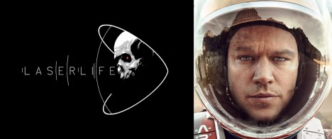 The Martian's Laserlife: Space and Existentialism